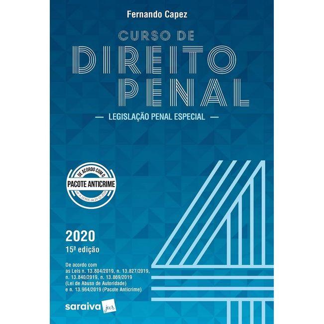 CURSO DE DIREITO PENAL V04 - LEGISLACAO PENAL ESPECIAL