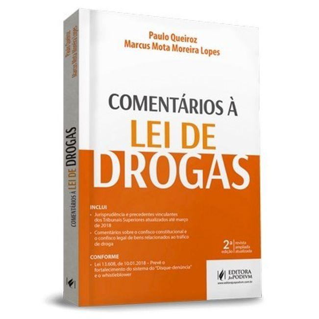 COMENTARIOS A LEI DE DROGAS