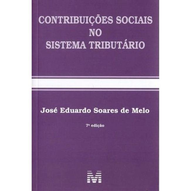 CONTRIBUICOES SOCIAIS NO SISTEMA TRIBUTARIO